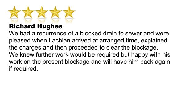 DrainWorks Testimonial Richard Hughes.