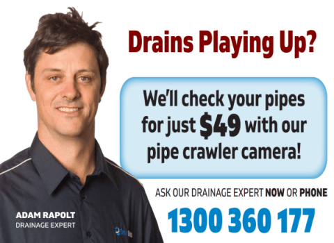 Drains Playing Up - 49 Buck Special July 2021